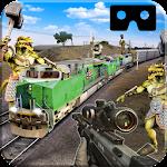 VR Army Train Defence Icon