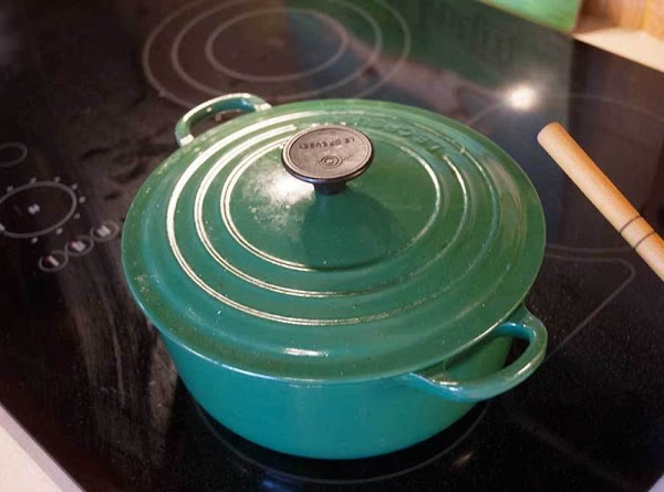 Cover the pot, and continue to simmer for 45 to 60 minutes or until...