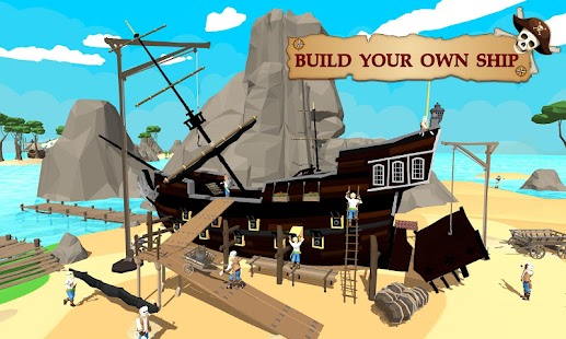 Pirate Ship Craft : Construction Build Battle Game - náhled