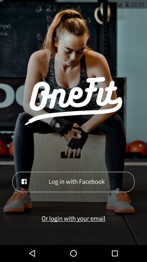 OneFit: screenshot
