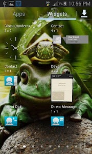 Green Frog Live Wallpaper screenshot 2