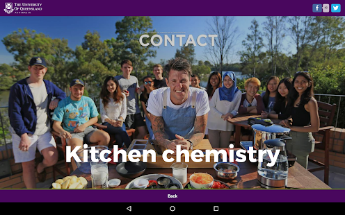 UQ Contact- screenshot thumbnail