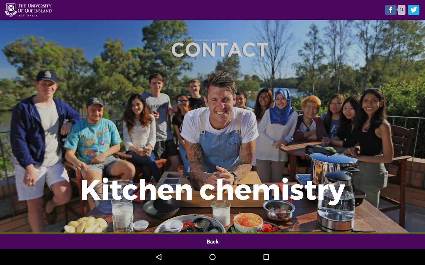 UQ Contact- screenshot