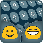 Round Emoji Keyboard Color
