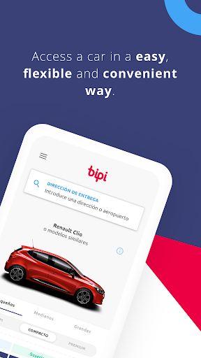 Bipi - Monthly subscriptions to cars  screenshots 2