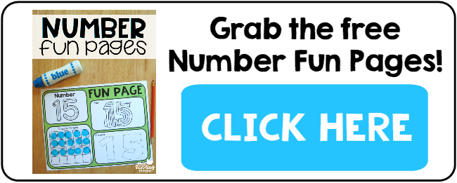 1-20 Number Fun Pages - This Reading Mama