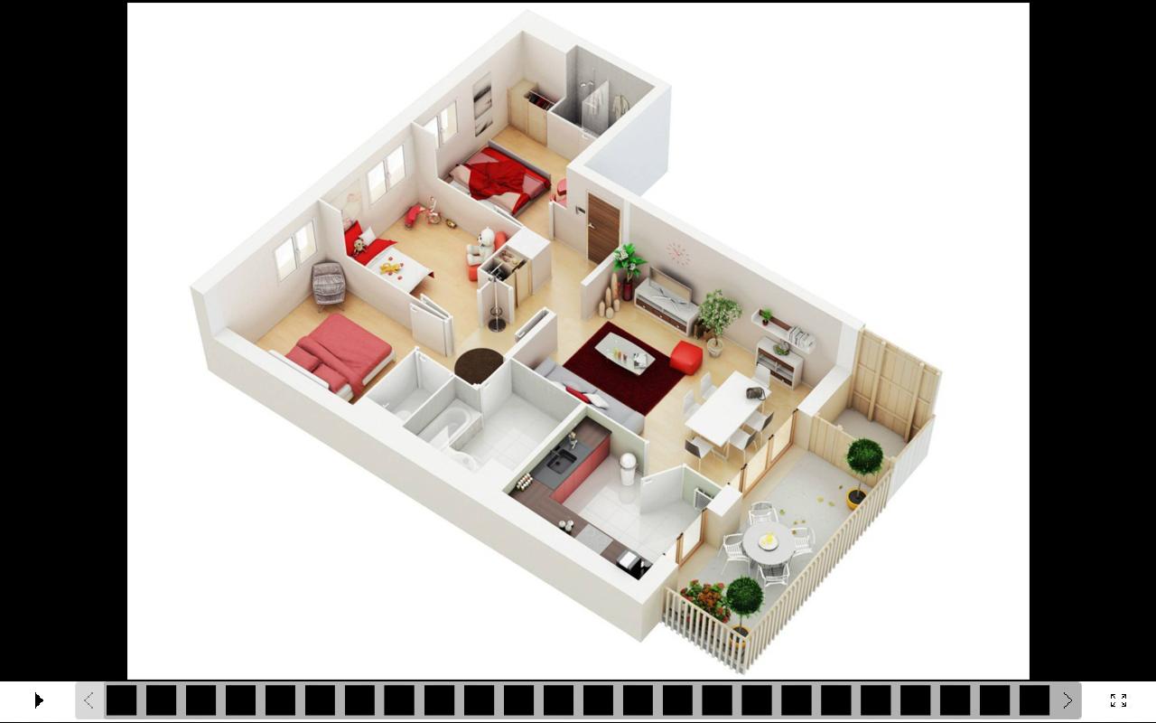 3d House Design Screenshot