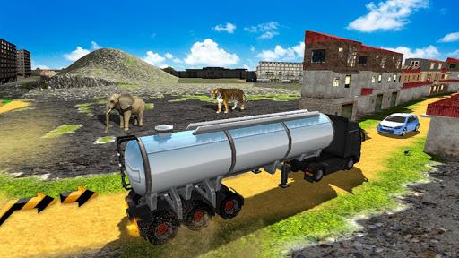 Drive Oil Tanker Truck:Transport & Supply Oil ss1