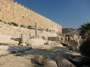 Photo: Portals in the southern wall are now blocked