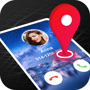 Mobile Number Locator Find Phone Number Location 3.2.5 by DroidDeveloper logo