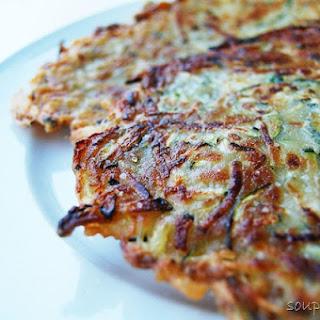 Super Easy Zucchini Pancakes.