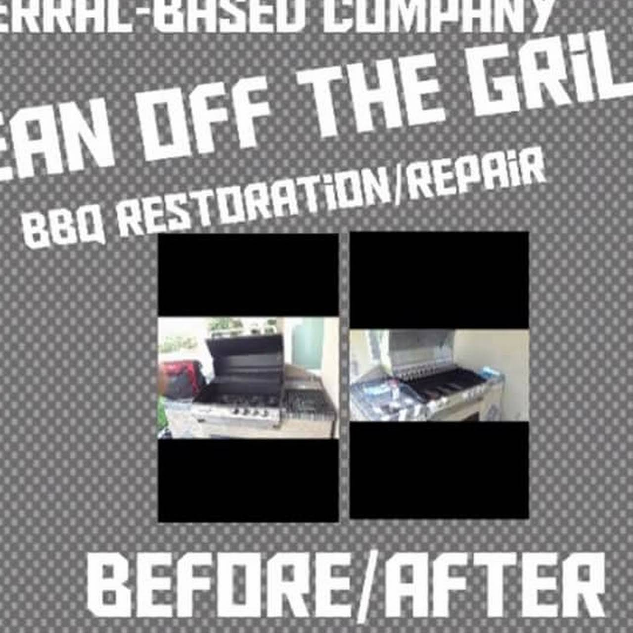 Clean off the grill BBQ restoration/repair company - BBQ