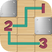 Connect the numbers tiles - complete all levels