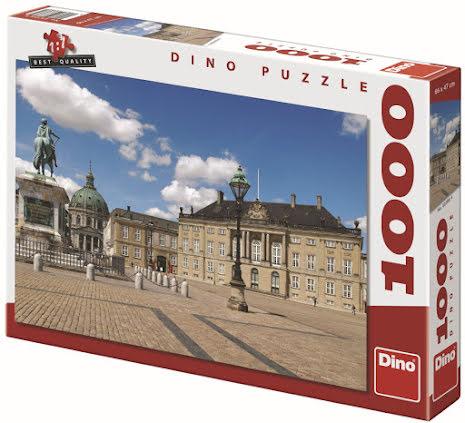 Pussel 1000 Bitar Köpenhamn Amalienborg, Dino