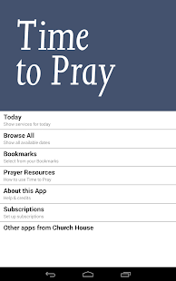Time to Pray: from the C of E- screenshot thumbnail