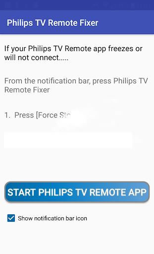 Philips TV Remote App Fix 1.2 screenshots 1