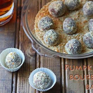 Pumpkin Bourbon Balls