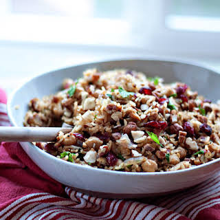 Nutty Chickpea Pilaf.