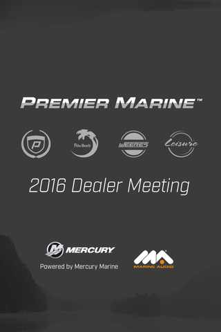 Premier Marine Dealer Meeting