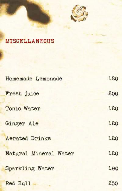 Cafe Illuminatii menu 13