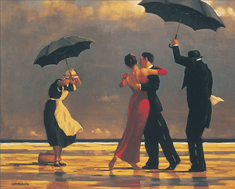 Jack Vettriano, The Singing Butler, 1992.