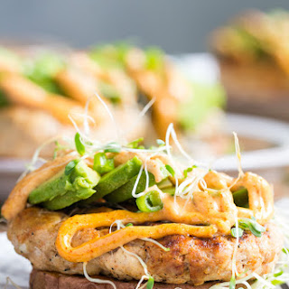 Chipotle Ranch Chicken Burgers {Paleo & Whole30}.