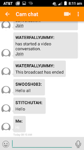 Screenshot For Swingular Messenger App In United States Play Store