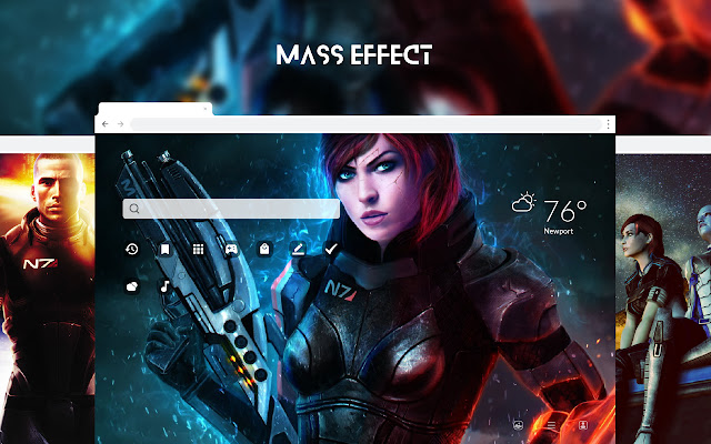 Mass Effect HD Wallpapers New Tab