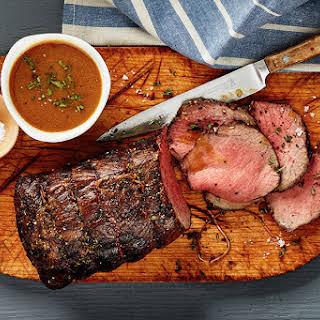 Classic Roast Beef with Gravy.