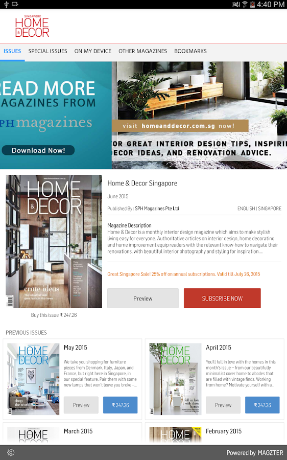 Home & Decor Singapore- screenshot