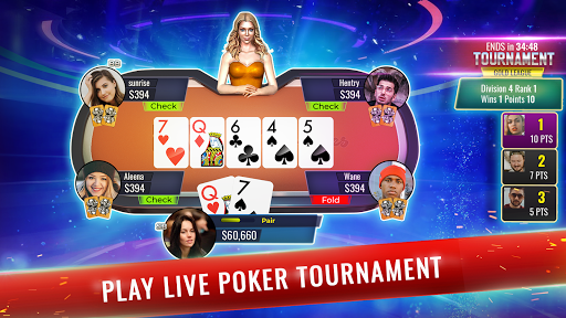 Poker Legends: Texas Holdem Poker - screenshot