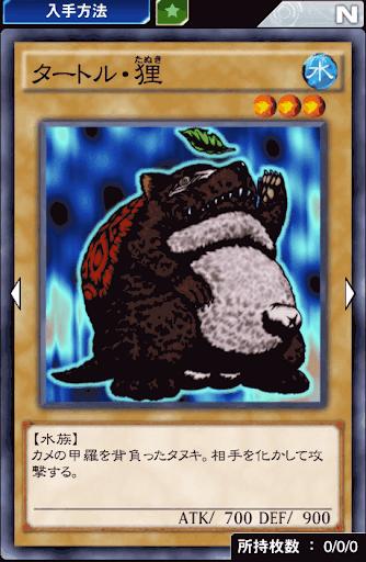 タートル・狸