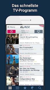 KLACK Fernseh- & TV-Programm Screenshot