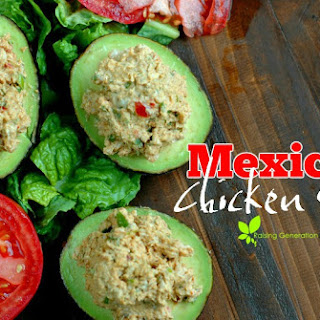 5 Minute Mexican Chicken Salad.