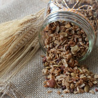Coconut Oil and Cocoa Nib Granola Recipe