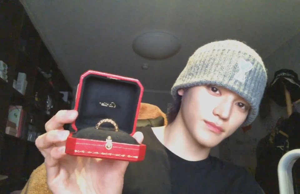3 nct 127 taeyong live couple ring