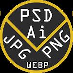 PSD > JPEG Converter: AI PNG WEBP 1.08_arm64v8a