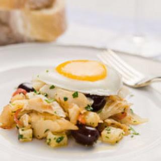 Portuguese Salt Cod Hash Recipe