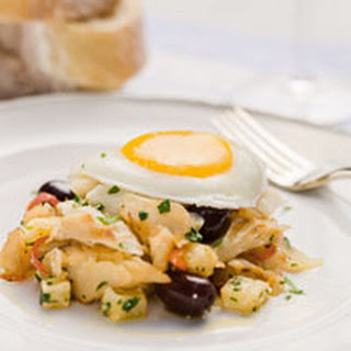 Portuguese Salt Cod Hash.