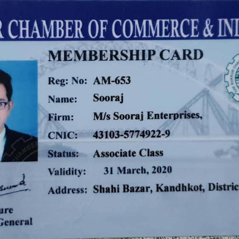 Sooraj Enterprises - Electronics Company in Kandhkot@kashmore