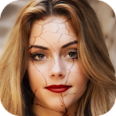 Face Crack Effect Photo Editor
