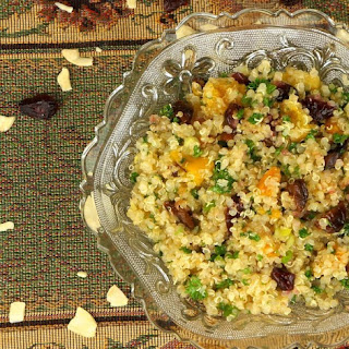Quinoa Salad with Dried Fruits
