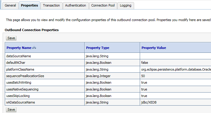 how to create connection pool in glassfish server for oracle