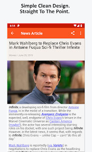 Movie News, Videos, & Social Media App Download For Android 5