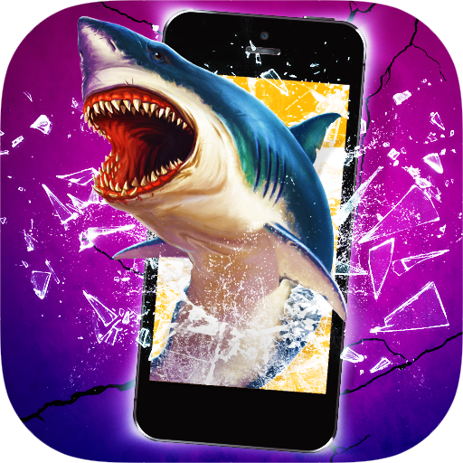 Shark Break Phone Prank Icon