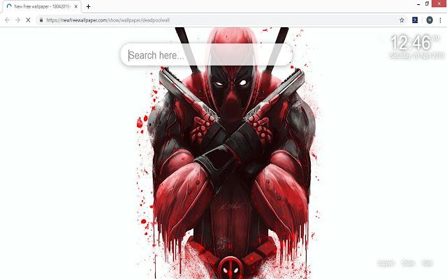 Deadpool Wallpapers HD New Tab
