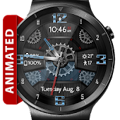 Wooden Gears HD Watch Face