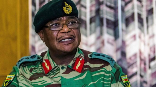 General Constantine Chiwenga. Picture: REUTERS
