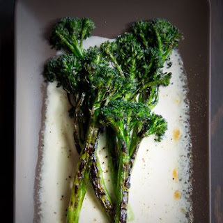 Grilled Broccolini.