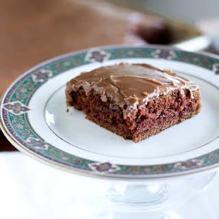Texas Sized Chocolate Sheet Cake.